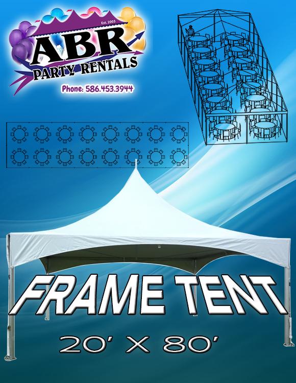 20 x 80 Frame Tent