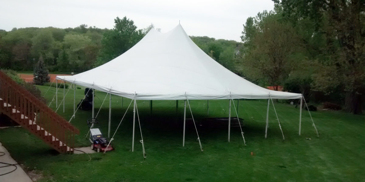 30 x 40 Pole Tent High Peak