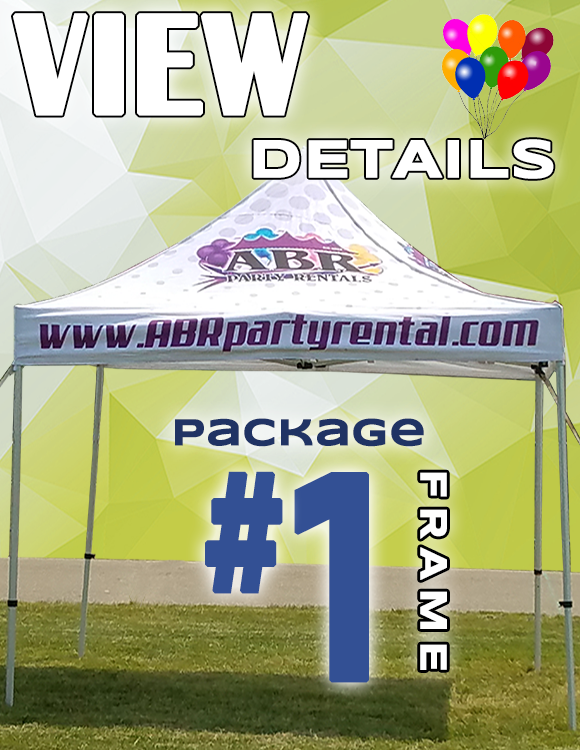 Frame Tent Package #1