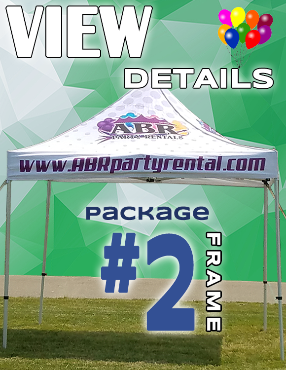 Frame Tent Package #2