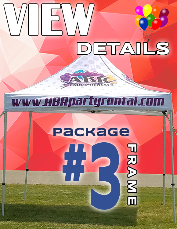 Frame Tent Package #3