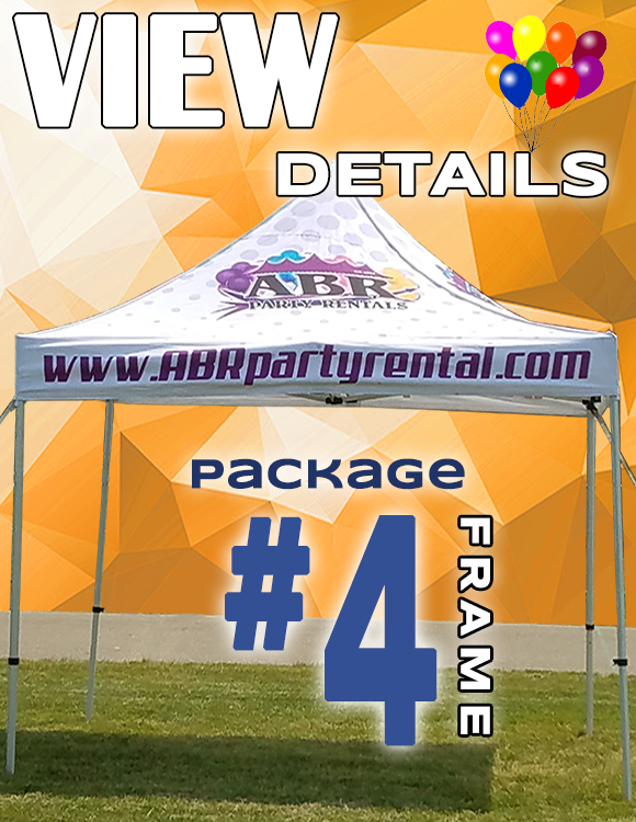 Frame Tent Package #4
