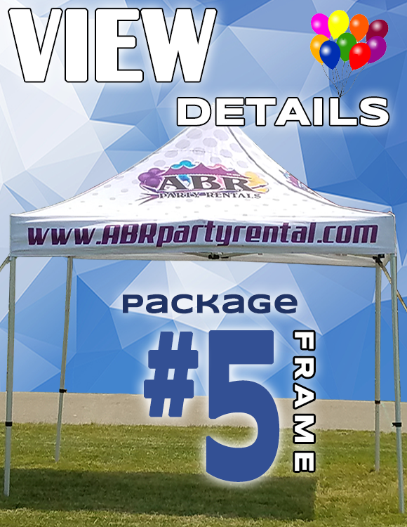Frame Tent Package #5