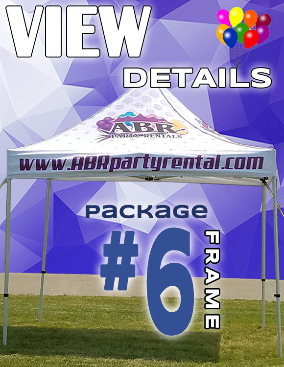 Frame Tent Package #6