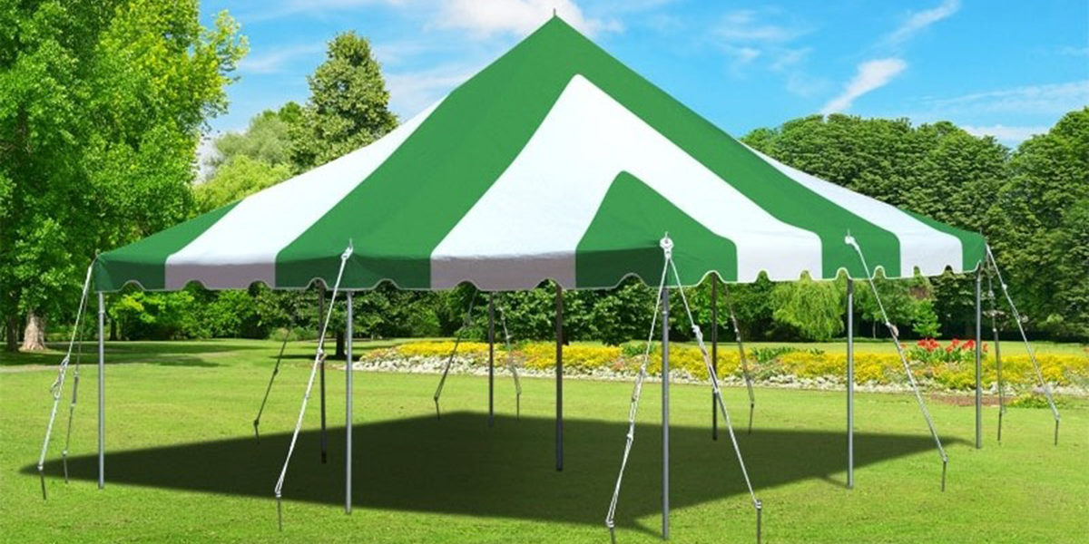 Pole Tent Green